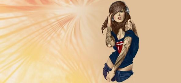 Музыкальная подборка: Музыка для девушек