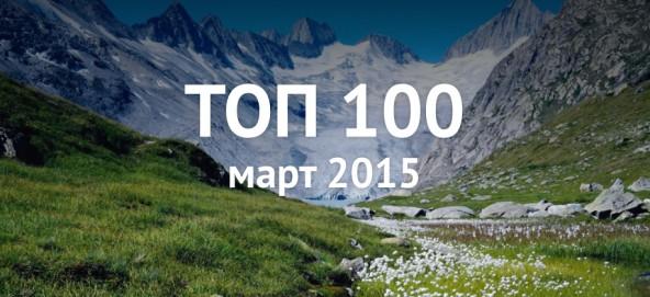 Музыкальная подборка: Топ 100 Zaycev.net март 2015